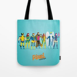 Pixel Mutants Tote Bag