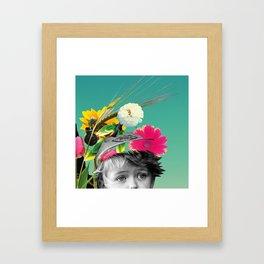Pollen Thoughts Framed Art Print