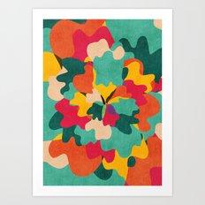 Aloha Camo Art Print