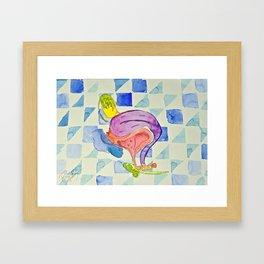 Outrageous Ovaries Framed Art Print