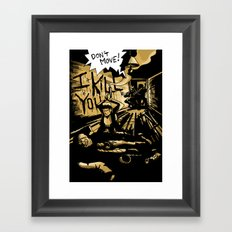 Want fries with that! Framed Art Print