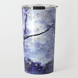The Magic Of Winter Evening Travel Mug