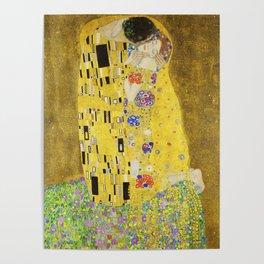 The Kiss - Gustav Klimt, 1907 Poster
