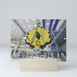 117. James Webb Space Telescope Mirror Seen in Full Bloom  Mini Art Print