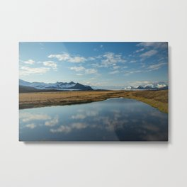 Scenes Along the Golden Circle Metal Print