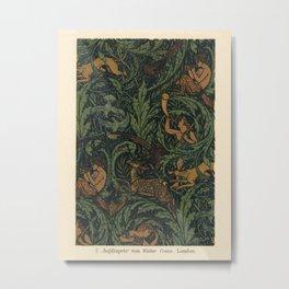 Jagtapete Wallpaper Design Metal Print