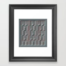 Squares and Rectangles 2 Framed Art Print