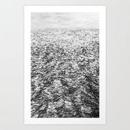 LA MER ENCORE Art Print
