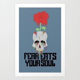 no fear Art Print