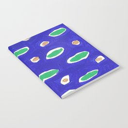 Ocean Life Abstract Painting Notebook