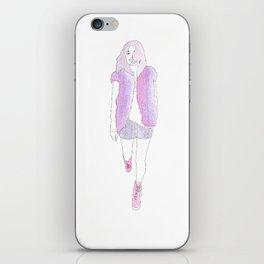 Typical Girl Camilla iPhone Skin