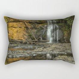 Upper North Falls, Late Summer Rectangular Pillow