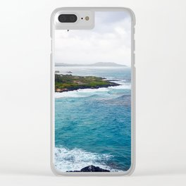 Island Vibes Clear iPhone Case