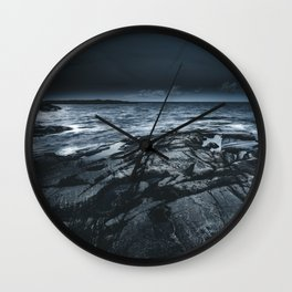 Courted by sirens Wall Clock