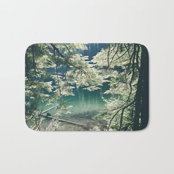 Green Lake Bath Mat