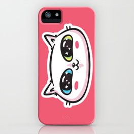 Starry Eyed Cat iPhone Case