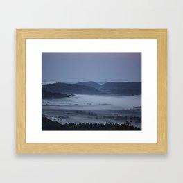 Sunrises near home Framed Art Print