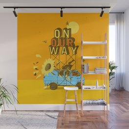 ON OUR WAY Wall Mural