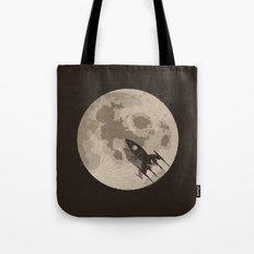 Around the Moon Tote Bag