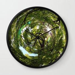 world human Wall Clock