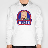 leslie knope Hoodies featuring Leslie Knope by SuperEdu