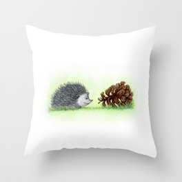 Spiky Duo Throw Pillow