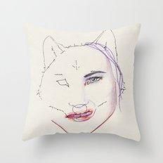 Dégoutée Throw Pillow