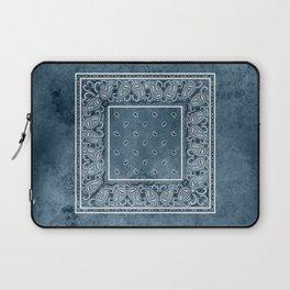 Blue Denim Bandana Laptop Sleeve