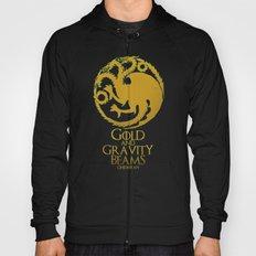Gold and Gravity Beams Hoody