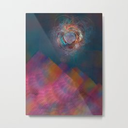 others fractal art abstraction Metal Print