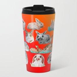 Bunny Mix Metal Travel Mug