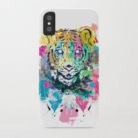 Tiger Splash iPhone X Slim Case