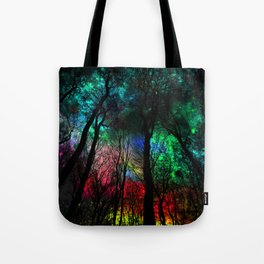 blissful forest Tote Bag