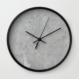 Concrete wall texture Wall Clock