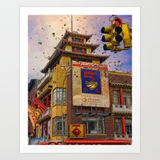 Happy Chinese New Year Art Print