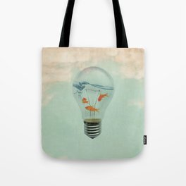 Ideas and Goldfish (RM) Tote Bag