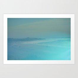 Ditch Plains Art Print