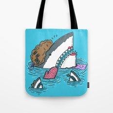 The Mom Shark Tote Bag