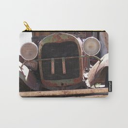 Truck Grill, Old Truck Grill, Vintage, Antique Truck Carry-All Pouch