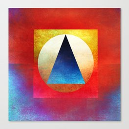 Suprematist Composition Canvas Print