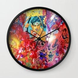 W0nder W0man  Wall Clock