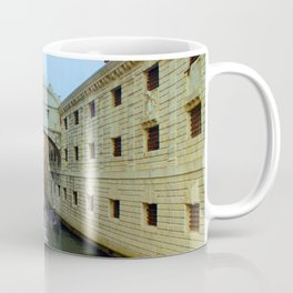 Bridge of Sighs, Venice, Italy,  in the late afternoon sun. Coffee Mug