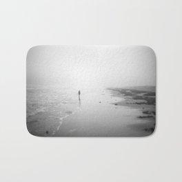 Walking In The Surf Bath Mat
