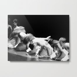 Danse du sable Metal Print