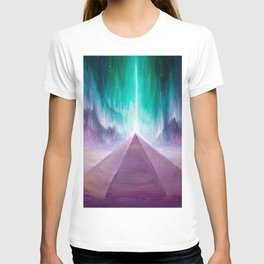 The energy of the pyramid on Mars T-shirt