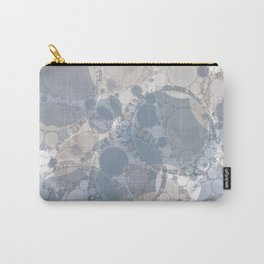 Round & Round Smoke & Steel Carry-All Pouch