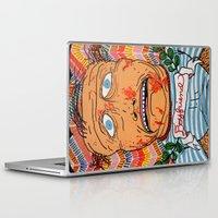 john snow Laptop & iPad Skins featuring John by Patty Hogan