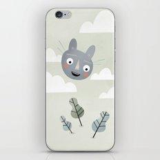 Cat in the Sky. iPhone & iPod Skin