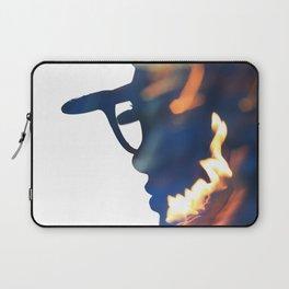Fire Girl Laptop Sleeve