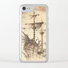 Haunted Ship Clear iPhone Case